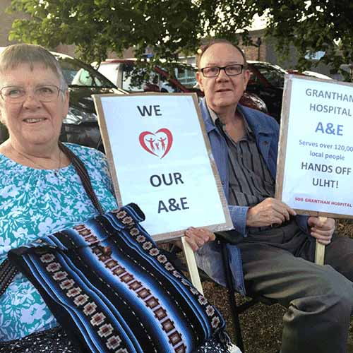 SOS Grantham Hospital the Issues